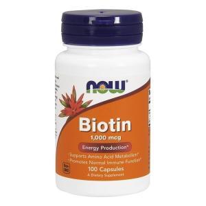 ナウフーズ ビオチン 1000mcg 100錠 Now Foods Biotin 1,000 100 Capsules|supla