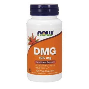 ナウフーズ DMG(ジメチルグリシン)125 mg、100カプセル【NOW FOODS】DMG 125mg 100 capsules|supla