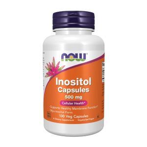 ナウフーズ イノシトールカプセル 500mg 100錠 Now Foods Inositol Capsules 500 100 Capsules|supla