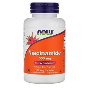 ナウフーズ ナイアシンアミド 500mg 100錠 NOW FOODS Niacinamide 500mg 100cap|supla