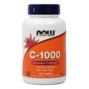 ナウフーズ C-1000 100錠 Now Foods C-1000 100 Tablets|supla