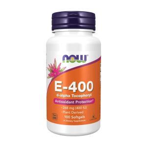 ナウフーズ E-400 100ソフトジェル【NOW FOODS】E-400 100Softgels|supla