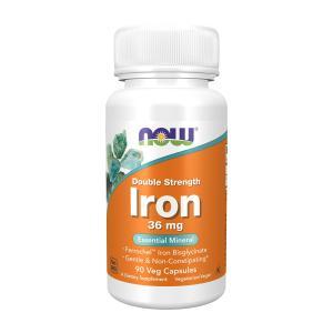 ナウフーズ 鉄 ダブルストレングス 36mg 90錠 NOW FOODS ron、Double Strength 36 mg、90 Veg Capsules|supla
