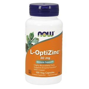 ナウフーズ L-オプティジンク 30mg イミューンサポート 100錠 NOW FOODS L-OptiZinc 30 mg 100 Veg Capsules|supla