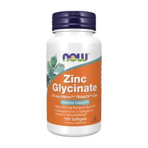 ナウフーズ グリシン酸亜鉛 30mg 120錠 NOW FOODS Zinc Glycinate 30mg 120CAP|supla