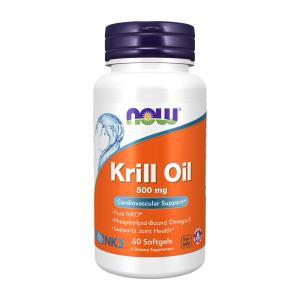 ナウフーズ クリルオイル 500mg 60ソフトジェル Now Foods Krill Oil 500 60 Softgels|supla