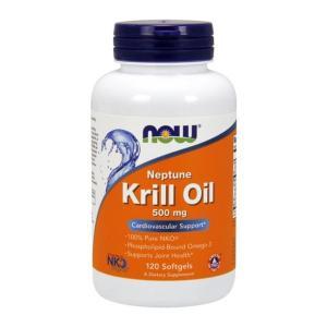 ナウフーズ ネプチューンクリルオイル 500mg 120ソフトジェル Now Foods Neptune Krill Oil 500 120 Softgels|supla