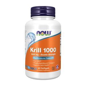 ナウフーズ ネプチューンクリルオイル 1000mg 60錠 NOW FOODS Neptune Krill 1000 1,000 mg 60 Softgels|supla