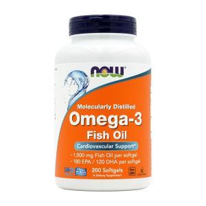 ナウフーズ オメガ3 200錠 NOW FOODS Omega-3 200 Softgels|supla