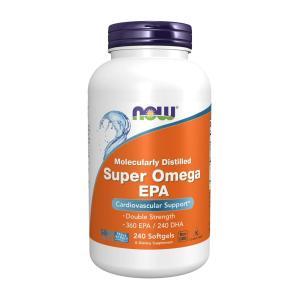 ナウフーズ スーパーオメガEPA 1200mg 240ソフトジェル【NOW FOODS】Super Omega EPA 1200mg 360/240 240SGELS|supla