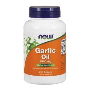 ナウフーズ ガーリックオイル 1500mg 250ソフトジェル Now Foods Garlic Oil 1500 250 Softgels|supla