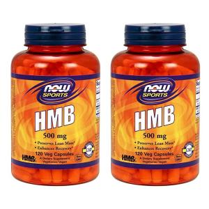 ナウスポーツ HMB 500mg 120錠 2本セット NOW SPORTS  NOW FOODS HMB 500mg 120CAP 2set|supla