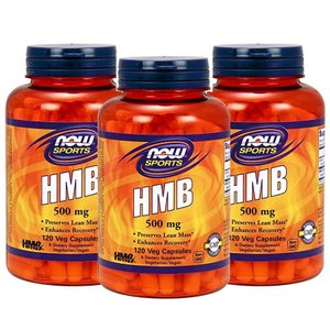 ナウスポーツ HMB 500mg 120錠 3本セット NOW SPORTS NOW FOODS HMB 500mg 120CAP 3set|supla