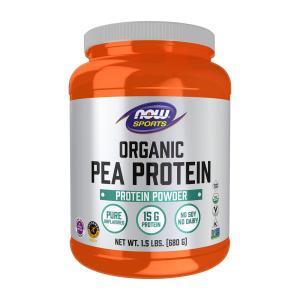 ナウスポーツ 有機エンドウ豆プロテイン 680g NOW SPORTS Organic Pea Protein 680g|supla