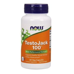 ナウフーズ テストジャック 100,  60ベジカプセル【NOW FOODS】TestoJack 100 60 Veg Capsules|supla