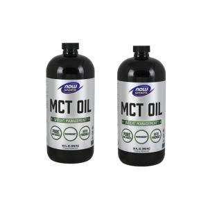 ナウフーズ ピュアMCTオイル、ココナッツ抽出 946ml 2本セット NOW FOODS MCT Oil, Pure 32 fl oz 2set|supla