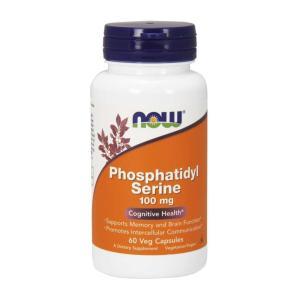 ナウフーズ ホスファチジルセリン 100mg 60ベジカプセル Now Foods Phosphatidyl Serine 100 60 Veg Capsules|supla