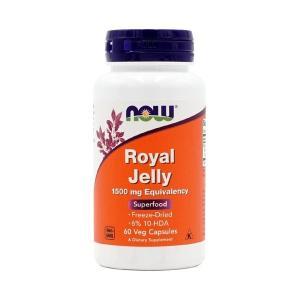 ナウフーズ ローヤルゼリー 1500mg 60ベジカプセル Now Foods Royal Jelly 1500 60 Veg Capsules|supla