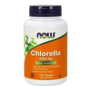 ナウフーズ クロレラ1000mg 120タブレット【NOW FOODS】Chlorella 1000 mg - 120 Tabs|supla