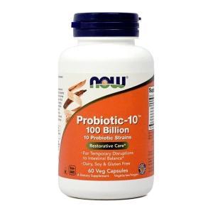 ナウフーズ プロバイオティック-10 100億 60ベジカプセル Now Foods Probiotic-10 100 60 Veg Capsules|supla