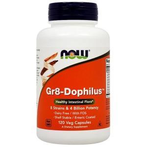 ナウフーズ Gr8ドフィラス 120ベジカプセル Now Foods Gr8-Dophilus 120 Vcaps|supla