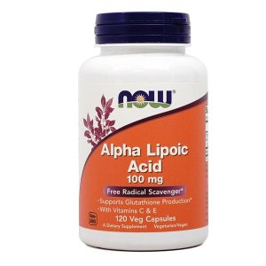 ナウフーズ アルファリポ酸100 mg 120ベジカプセル【NOW FOODS】Alpha Lipoic Acid 100 120 Veg Capsules|supla