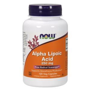 ナウフーズ アルファリポ酸250mg 120ベジカプセル【NOW FOODS】Alpha Lipoic Acid 250mg 120 Veg Capsules|supla