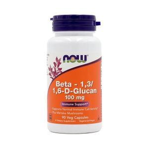 ナウフーズ ベータ-1,3/1,6-D-グルカン 100mg 90ベジカプセル Now Foods Beta1.3/1.6 Glucan 100 90 Veg Capsules supla