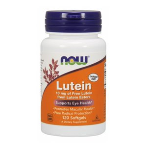 ナウフーズ ルテイン 10mg 120錠 NOW FOODS Lutein 10mg 120Softgels|supla