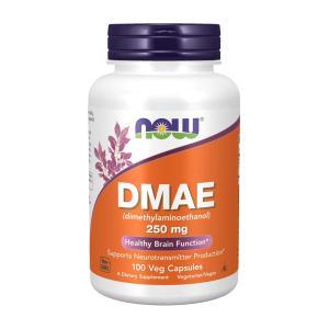 ナウフーズ DMAE 250mg 100ベジカプセル Now Foods DMAE (dimethylaminoethanol) 250 100 Vcaps|supla