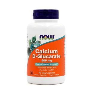 ナウフーズ カルシウムD-グルカレート500mg  90ベジカプセル【NOW FOODS】Calcium D-Glucarate 500mg 90 Veg Capsules supla