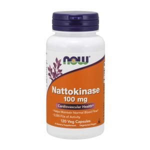 ナウフーズ ナットウキナーゼ100mg 120ベジカプセル【NOW FOODS】Nattokinase 100 mg - 120 Vcaps?|supla
