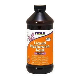 ナウフーズ 液体ヒアルロン酸  100mg 【NOW FOODS】Liquid Hyaluronic Acid 100 16 fl oz supla