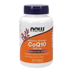 ナウフーズ コエンザイム Q10 600 mg 60ソフトジェル【NOW FOODS】CoQ10 - 600 mg 60 Softgels supla