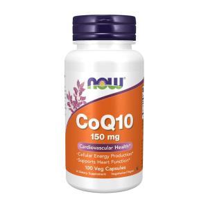 ナウフーズ コキュテン(コエンザイムQ10)150 mg 100ベジカプセル 【NOW FOODS】CoQ10 150 100 Veg Capsules supla
