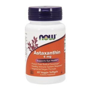 ナウフーズ アスタキサンチン 4mg 60ベジソフトジェル Now Foods Astaxanthin 4 60 Veggie Softgels|supla