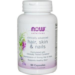 ナウフーズ ソリューションズヘア スキン&ネイル 90錠 NOW FOODS Hair skin & Nails 90CAP supla