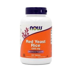 ナウフーズ 紅麹 1200mg 120錠 Now Foods Red Yeast Rice 1200 120 Tablets|supla