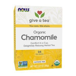 ナウフーズ カモミールティー 24ティーバッグ【NOW FOODS】Comfy Chamomile 24 Tea Bags|supla