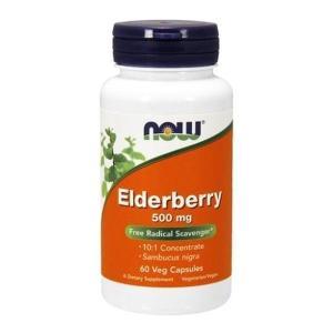ナウフーズ エルダーベリーエキス 500mg 60ベジカプセル Now Foods Elderberry Extract 500 60 Vcaps|supla