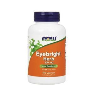 ナウフーズ アイブライト ハーブ 410mg 100カプセル Now Foods Eyebright Herb 410 100 Capsules|supla