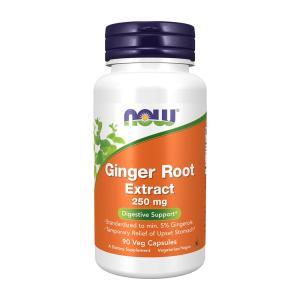 ナウフーズジンジャールート250mg 90錠【NOW FOODS】Ginger Root Extract 250 mg - 90 Vcaps|supla