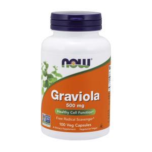 ナウフーズ グラビオラ 500mg 100カプセル Now Foods Graviola 500 100 Veg Capsules|supla