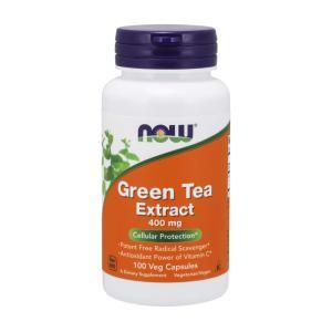 ナウフーズ グリーンティーエクストラクト  400mg 100カプセル Now Foods Green Tea Extract 400 100 Capsules|supla