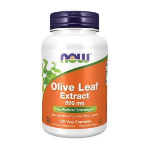 ナウフーズ オリーブ葉エキス 500mg 120ベジカプセル Now Foods Olive Leaf Extract 500 120 Veg Capsules|supla