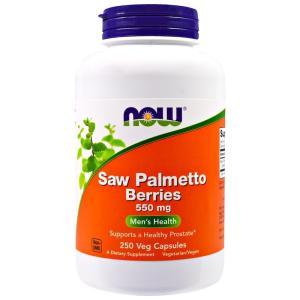ナウフーズ ソーパルメット ベリー (ノコギリヤシ) 550mg 250錠 NOW FOODS Saw Palmetto Berries 550 mg 250 Veggie Caps|supla