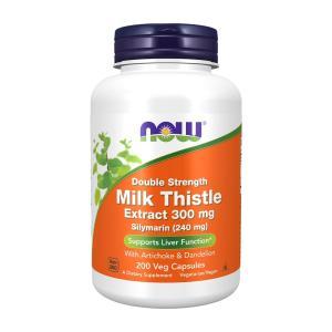 ナウフーズ シリマリン ミルクシスル 300mg 200錠 Now foods Silymarin 300mg 200 veggie caps|supla