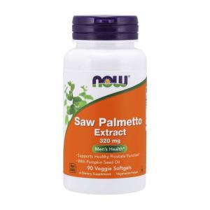 ナウフーズ ソーパルメット エクストラクト 320mg 90ベジソフトジェル【NOW FOODS】Saw Palmetto Extract 320 90 Veggie Softgels|supla
