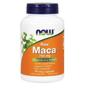 ナウフーズ ローマカ 750mg 90錠 Now Foods Raw Maca 750mg 90veg capsules|supla