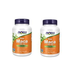 ナウフーズ ローマカ 750mg 90錠 2本セット Now Foods Raw Maca 750mg 90veg capsules 2set|supla